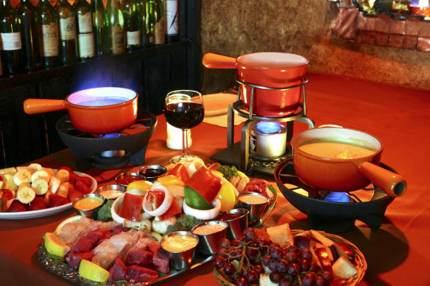 Cheese Fondue Feast? Yes!